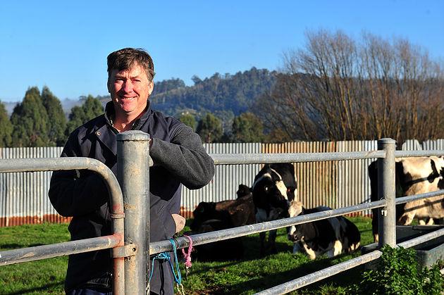 Newly Elected United Dairy Farmers Victoria Representative Matt Gleeson.