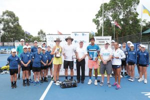 Tauson and Lehecka join a long list of tennis royalty to have claimed the Traralgon Junior International.