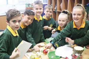 St Mary's Students test ripeness